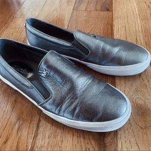 Michael Kors Metallic Slip-On Sneaker